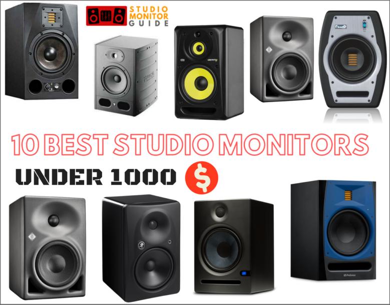 Best Studio Monitors Under 1000