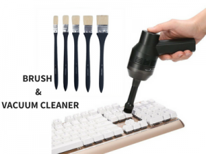 VACUUM CLEANER AND BRUSH