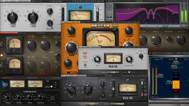 waves compressor plugins