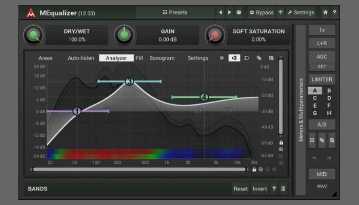 MEqualizer vst plugin