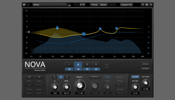 TDR Nova equalizer plugin