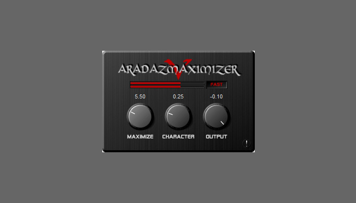 aradaz maximizer vst plugin