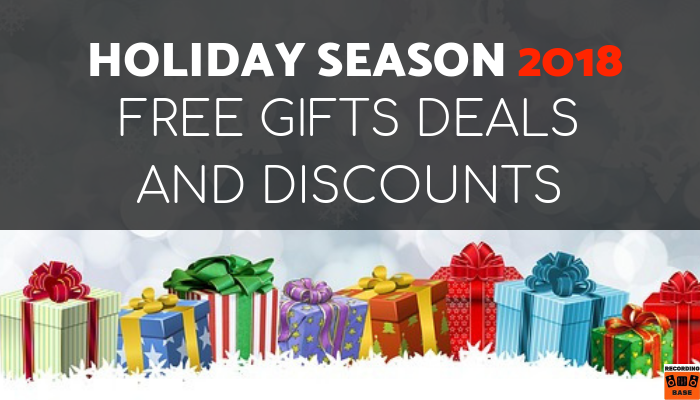 CHRISTMAS DEALS AND DISCOUNTS FOR MUSIC PRODUCERS