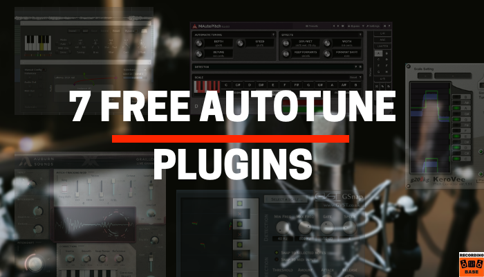 Free Autotune Software Plugins