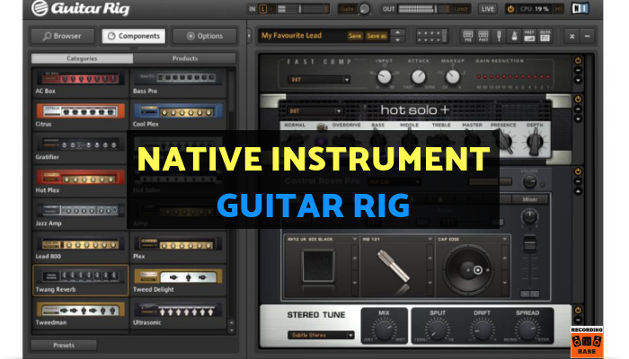 Native Instrument – Guitar Rig