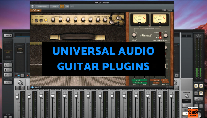 Universal Audio guitar plugins