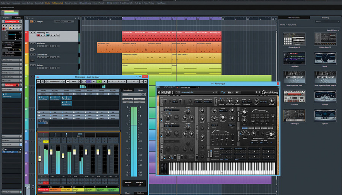cubase pro user interface