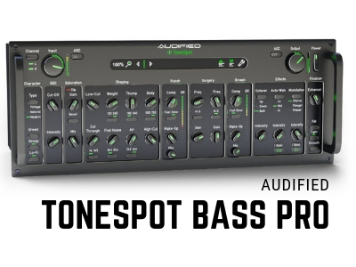 audified bass guitar plugin