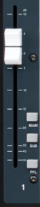 channel faders