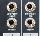 channel strip insert