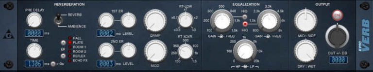 epicverb reverb plugin