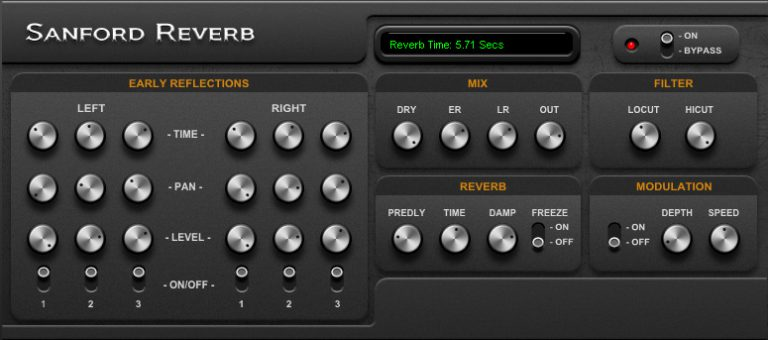 sanford reverb plugin