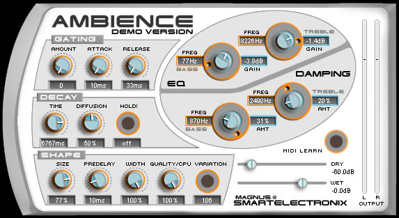 smart teletronix ambience reverb