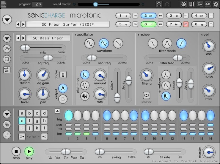 MicroTonic drum vst plugin for beginners