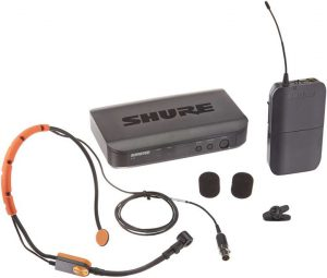 Shure BLX14-SM31 wireless mic system