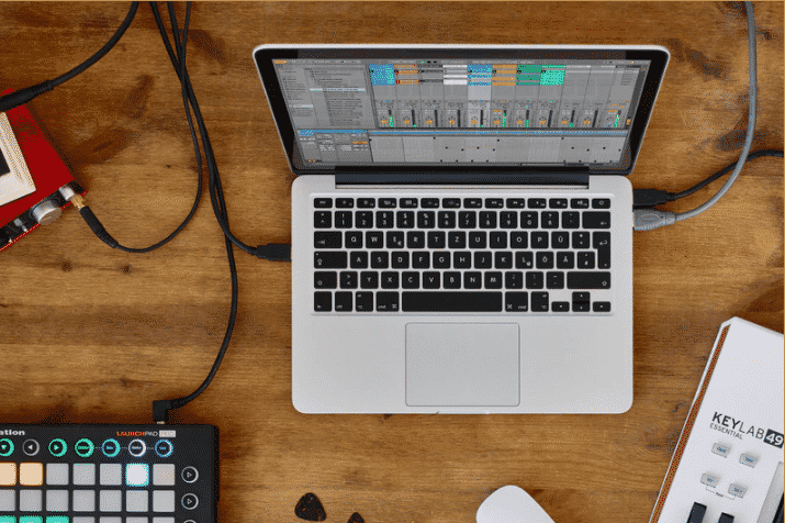 ableton live lite fee music production software