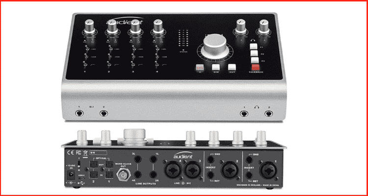 Audient iD44 audio interfaces 2020