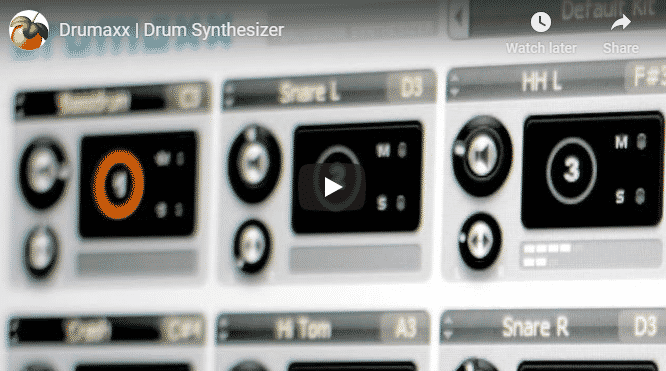 Drumaxx vst drum plugin