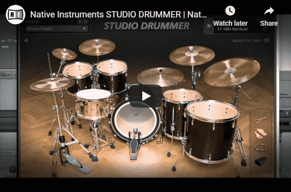 Native instruments studio drummer preview