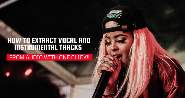 How to Extract Vocal And Instrumental Tracks