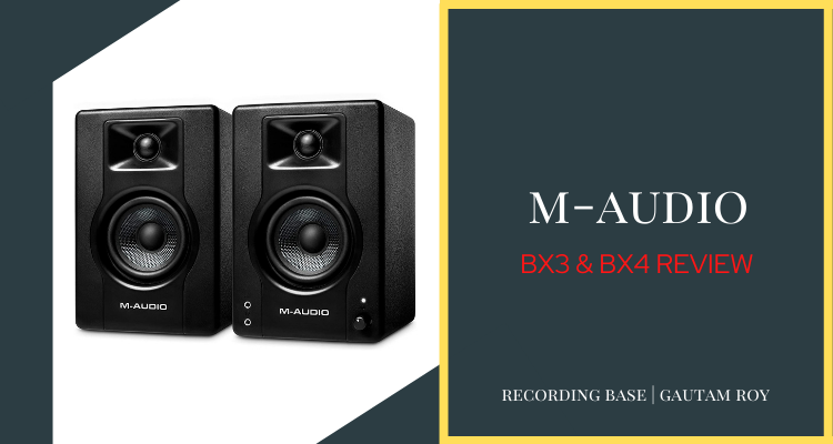 m-audio bx3 and bx4