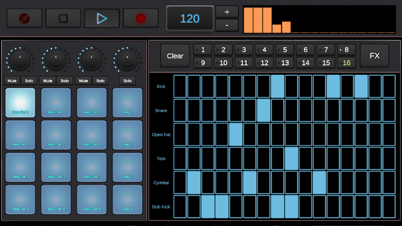 DubStep Music Creator android app