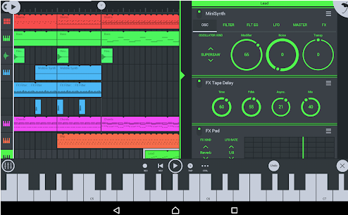 FL Studio mobile DAW for Android