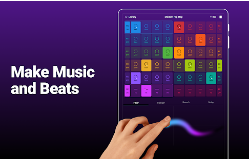 Groovepad music making app for android