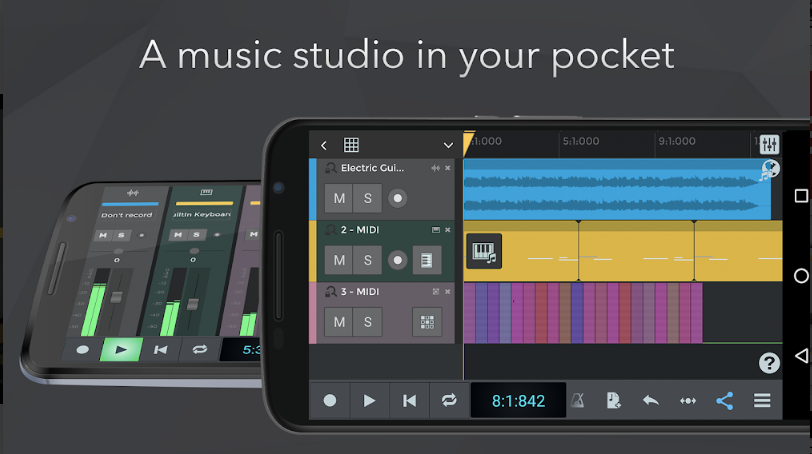 n-track studio for android mobile