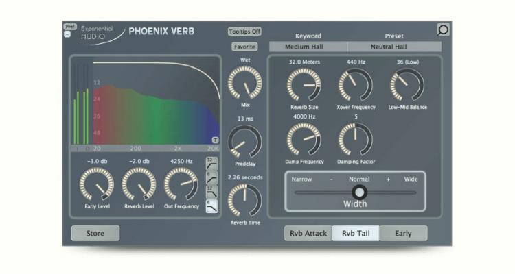 PhoenixVerb Stereo