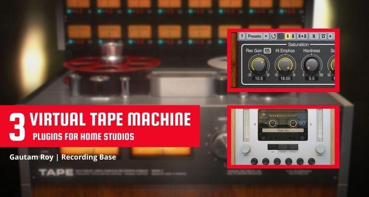 virtual tape machine plugin for beginners