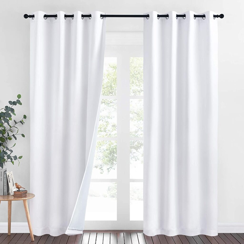 NICETOWN Dust Isolate Sound Barrier curtains
