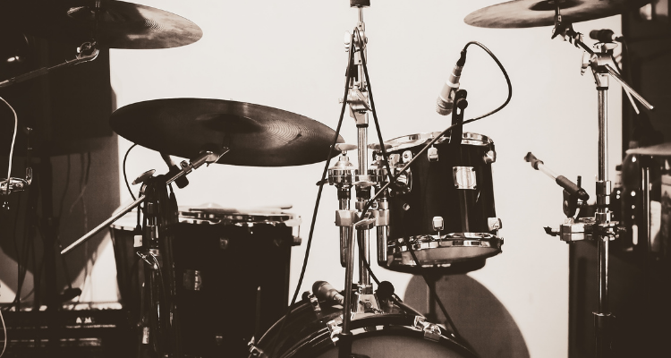 Direction of Mic from drums