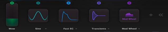 timeless 3 modulation section