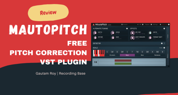 MAutoPitch FREE Pitch Correction VST Plugin [Review 2021]