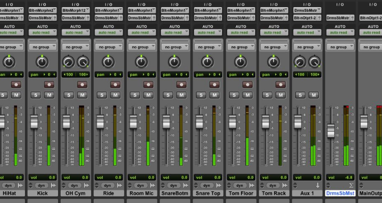 daw routing for surround